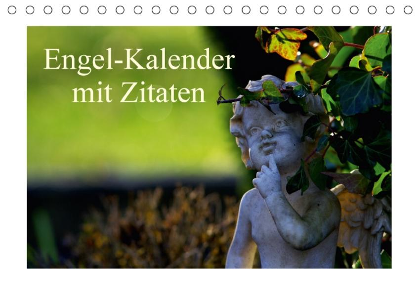 Engel-Kalender mit Zitaten / CH-Version (Tischkalender 2017 DIN A5 quer) - Coverbild