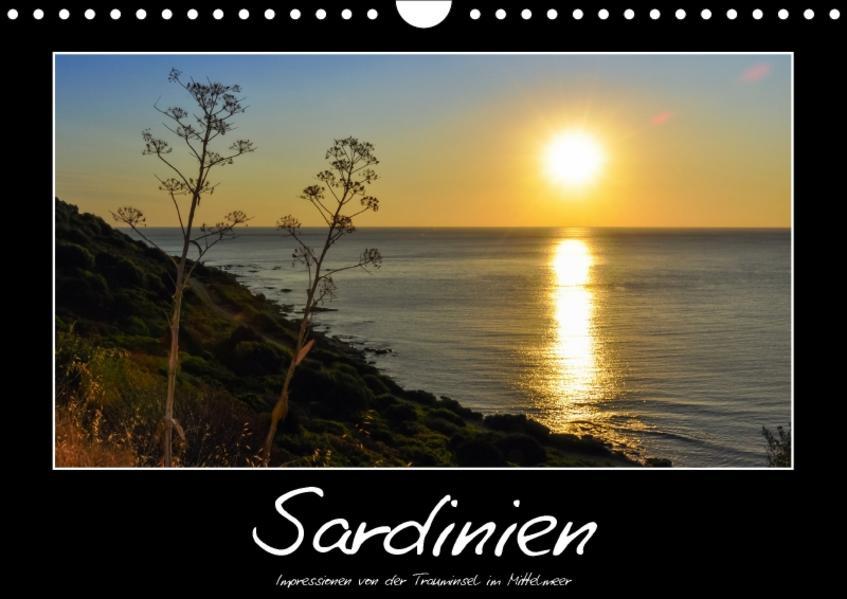 Die Trauminsel Sardinien / CH-Version (Wandkalender 2017 DIN A4 quer) - Coverbild
