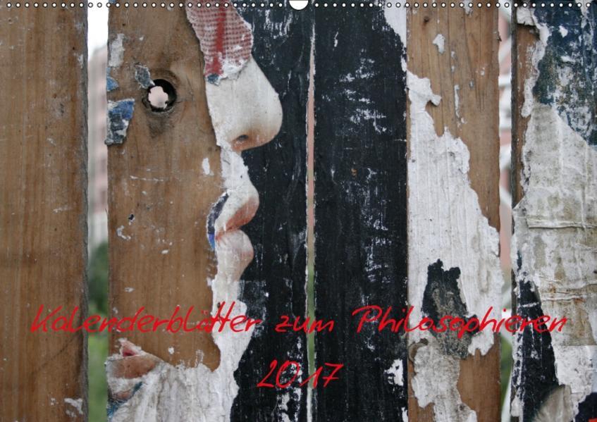 Kleiner philosophischer Kalender 2017 / CH-Version (Wandkalender 2017 DIN A2 quer) - Coverbild