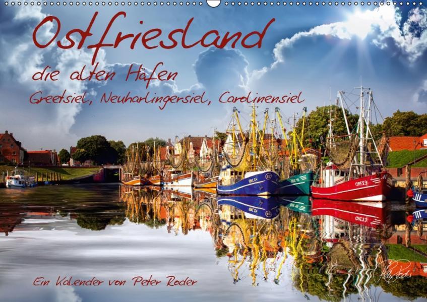 Ostfriesland, die alten Häfen / CH-Version (Wandkalender 2017 DIN A2 quer) - Coverbild