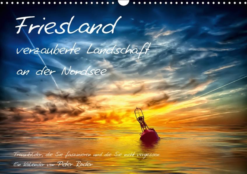Friesland - verzauberte Landschaft an der Nordsee / CH-Version (Wandkalender 2017 DIN A3 quer) - Coverbild