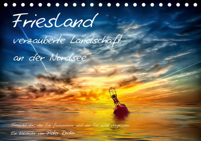 Friesland - verzauberte Landschaft an der Nordsee / CH-Version (Tischkalender 2017 DIN A5 quer) - Coverbild