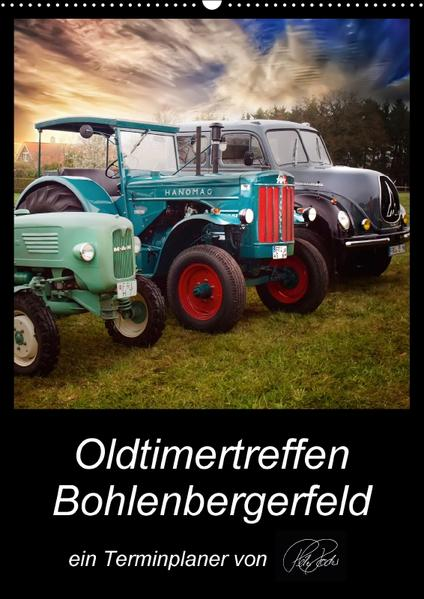 Oldtimertreffen Bohlenbergerfeld / CH-Version / Planer (Wandkalender 2017 DIN A2 hoch) - Coverbild