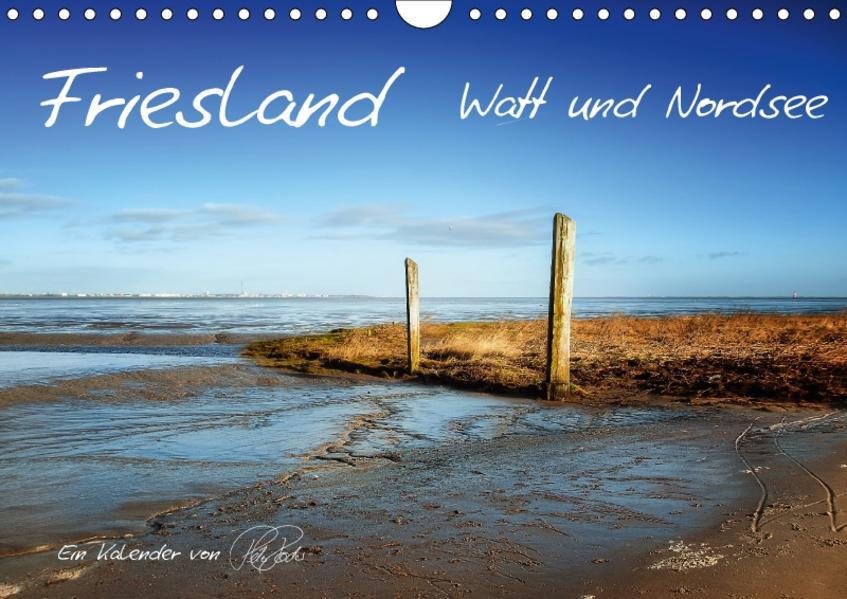 Friesland - Watt und Nordsee / CH-Version (Wandkalender 2017 DIN A4 quer) - Coverbild