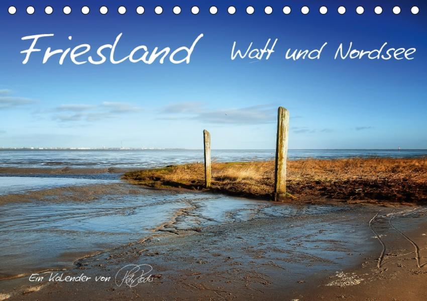 Friesland - Watt und Nordsee / CH-Version (Tischkalender 2017 DIN A5 quer) - Coverbild