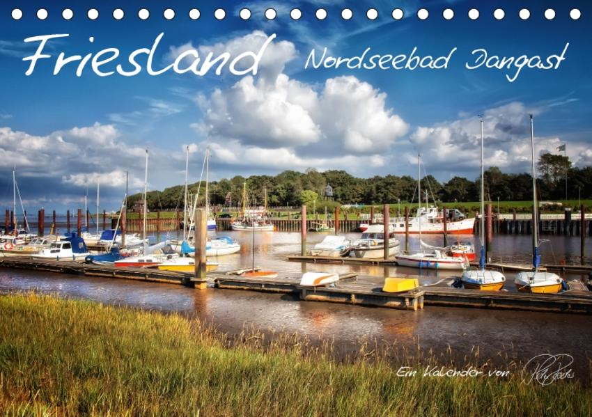 Friesland - Nordseebad Dangast / CH-Version (Tischkalender 2017 DIN A5 quer) - Coverbild