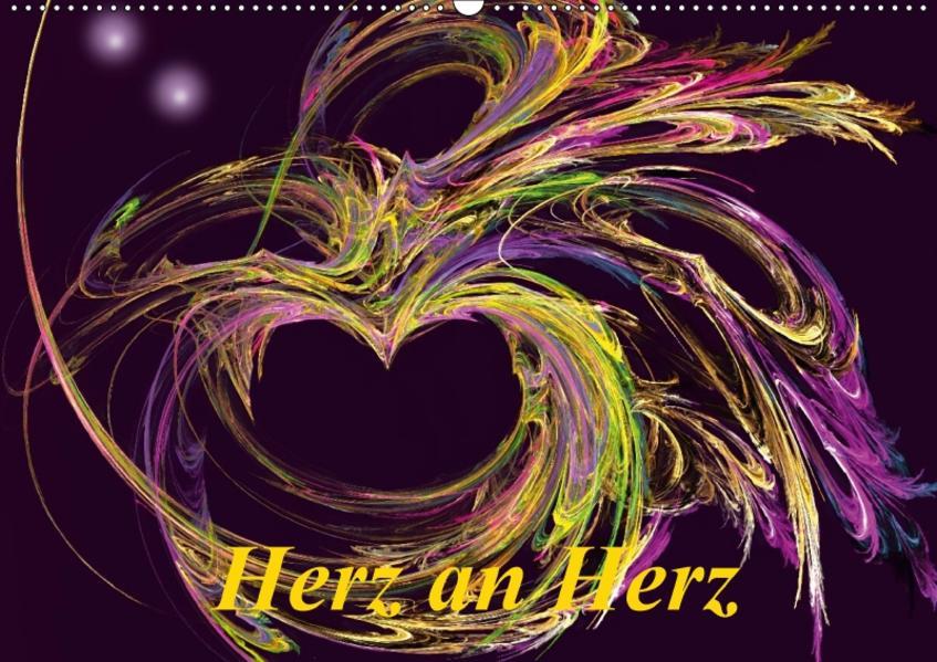 Herz an Herz  / CH-Version (Wandkalender 2017 DIN A2 quer) - Coverbild