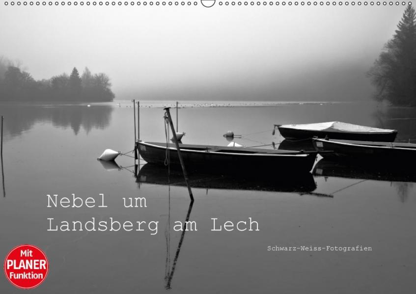 Nebel um Landsberg am Lech (Wandkalender 2017 DIN A2 quer) - Coverbild