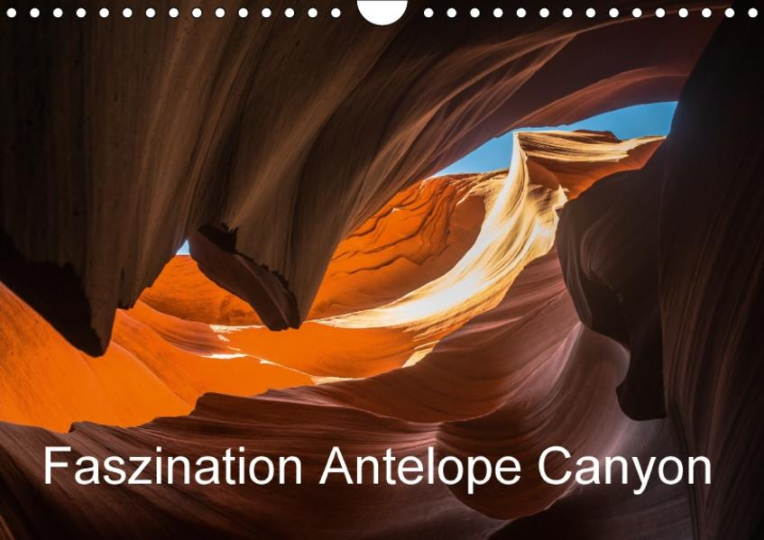 Faszination Antelope Canyon / CH-Version (Wandkalender 2017 DIN A4 quer) - Coverbild