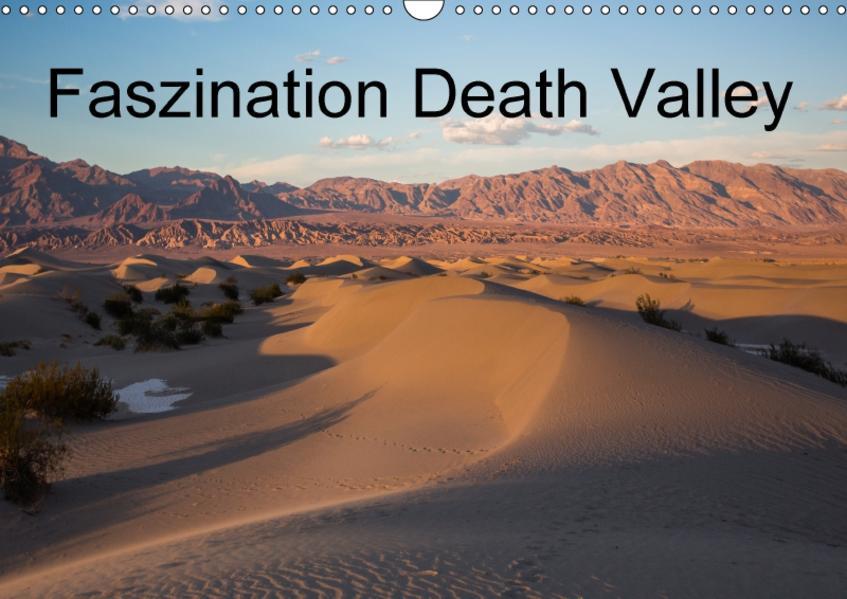 Faszination Death Valley / CH-Version (Wandkalender 2017 DIN A3 quer) - Coverbild