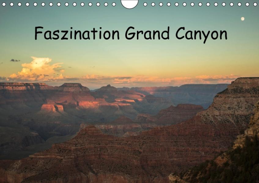 Faszination Grand Canyon / CH-Version (Wandkalender 2017 DIN A4 quer) - Coverbild