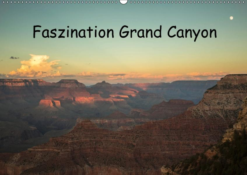 Faszination Grand Canyon / CH-Version (Wandkalender 2017 DIN A2 quer) - Coverbild