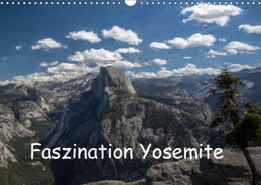 Faszination Yosemite / CH-Version (Wandkalender 2017 DIN A3 quer) - Coverbild