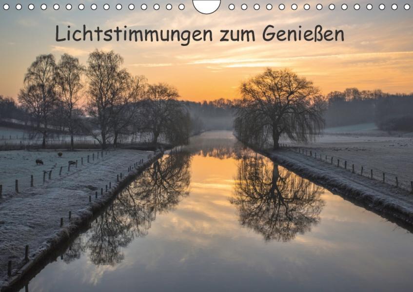 Lichtstimmungen zum Genießen / CH-Version (Wandkalender 2017 DIN A4 quer) - Coverbild