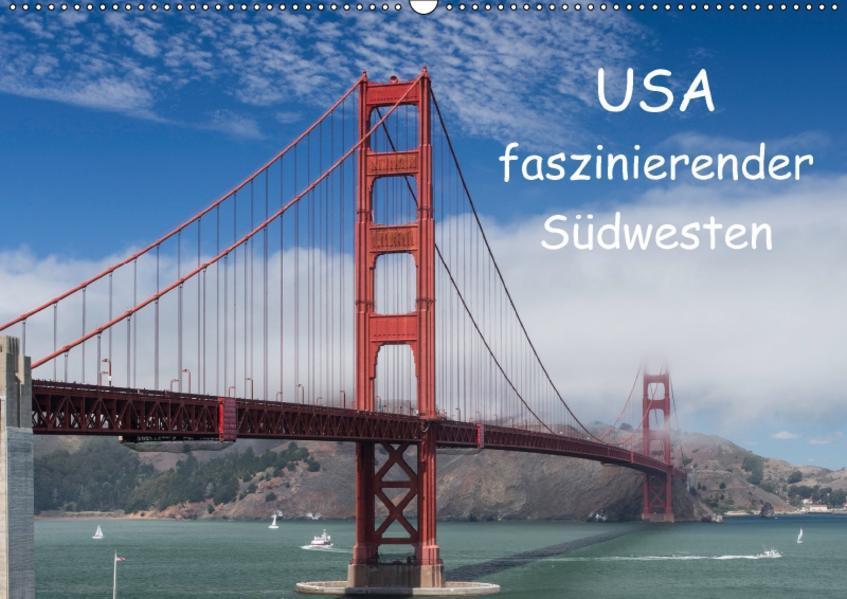 USA - faszinierender Südwesten / CH-Version (Wandkalender 2017 DIN A2 quer) - Coverbild
