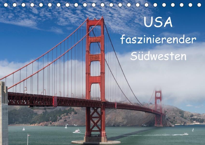 USA - faszinierender Südwesten / CH-Version (Tischkalender 2017 DIN A5 quer) - Coverbild