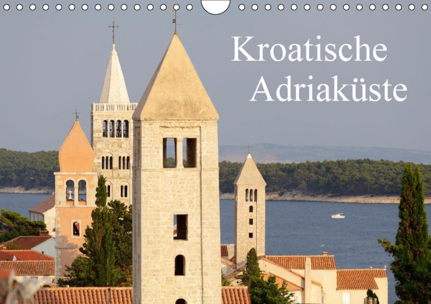 Kroatische Adriaküste (Wandkalender 2017 DIN A4 quer) - Coverbild