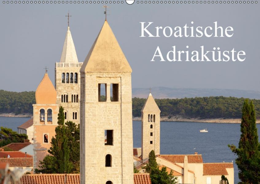Kroatische Adriaküste (Wandkalender 2017 DIN A2 quer) - Coverbild