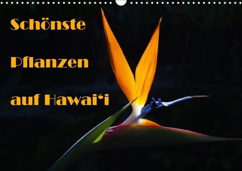 Schönste Pflanzen auf Hawai'i / CH-Version (Wandkalender 2017 DIN A3 quer) - Coverbild