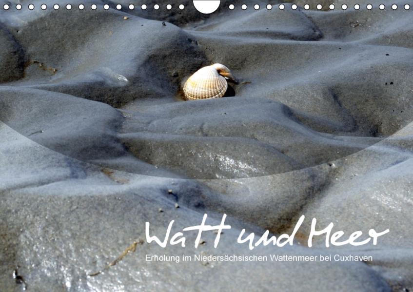 Watt und Meer (Wandkalender 2017 DIN A4 quer) - Coverbild