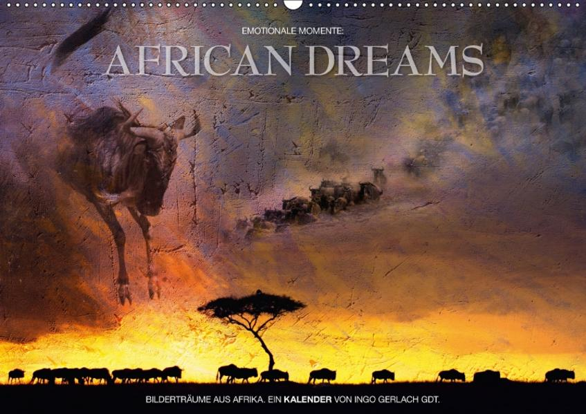 Emotionale Momente: African Dreams / CH-Version (Wandkalender 2017 DIN A2 quer) - Coverbild