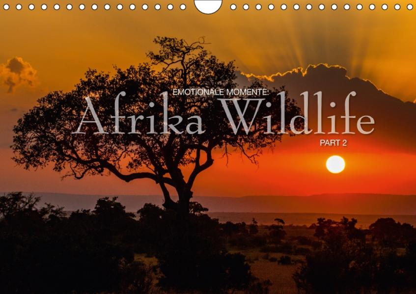 Emotionale Momente: Afrika Wildlife Part 2 / CH-Version (Wandkalender 2017 DIN A4 quer) - Coverbild