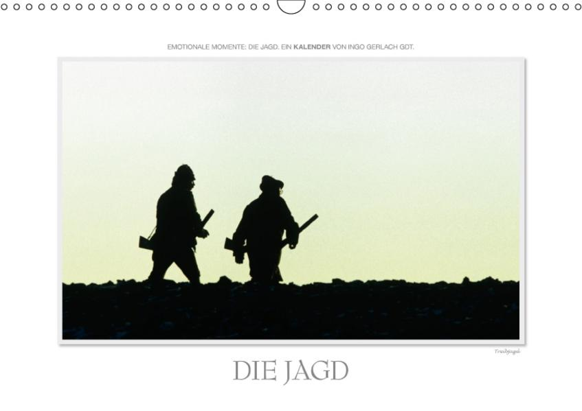 Emotionale Momente: Die Jagd. / CH-Version (Wandkalender 2017 DIN A3 quer) - Coverbild