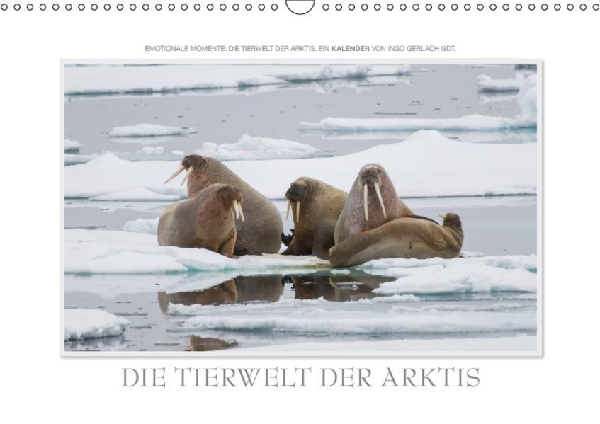Emotionale Momente: Die Tierwelt der Arktis / CH-Version (Wandkalender 2017 DIN A3 quer) - Coverbild