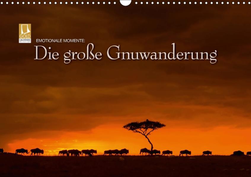 Emotionale Momente: Die große GnuwanderungCH-Version  (Wandkalender 2017 DIN A3 quer) - Coverbild