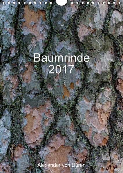Baumrinde 2017 (Wandkalender 2017 DIN A4 hoch) - Coverbild