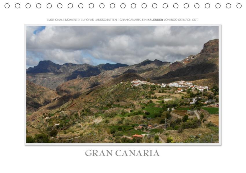 Emotionale Momente: Gran Canaria / CH-Version (Tischkalender 2017 DIN A5 quer) - Coverbild