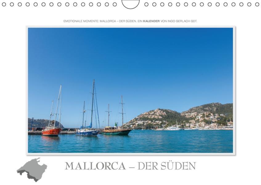 Emotionale Momente: Mallorca - der Süden. / CH-Version (Wandkalender 2017 DIN A4 quer) - Coverbild