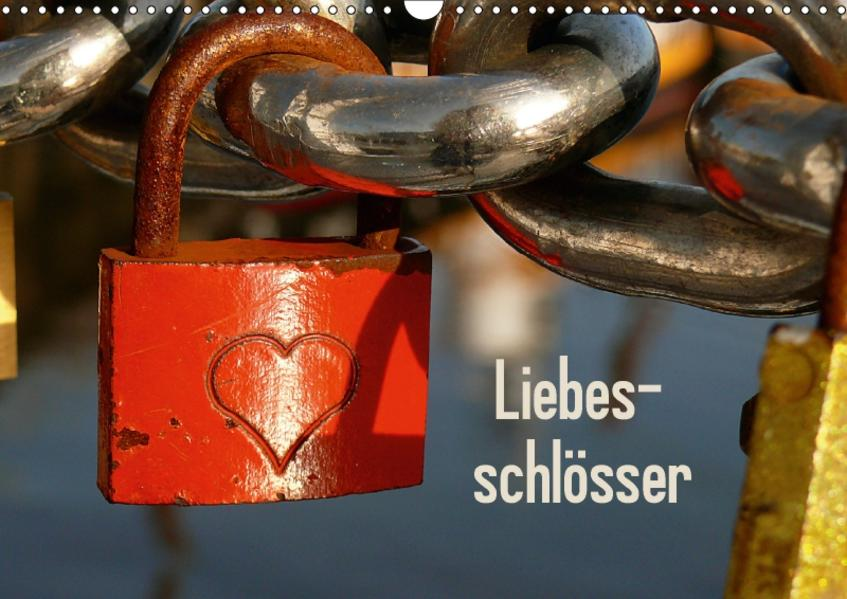 Liebesschlösser / CH-Version (Wandkalender 2017 DIN A3 quer) - Coverbild