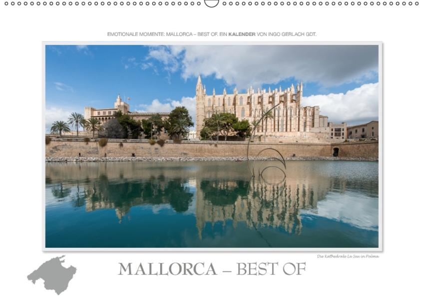 Emotionale Momente: Mallorca Best of / CH-Version (Wandkalender 2017 DIN A2 quer) - Coverbild