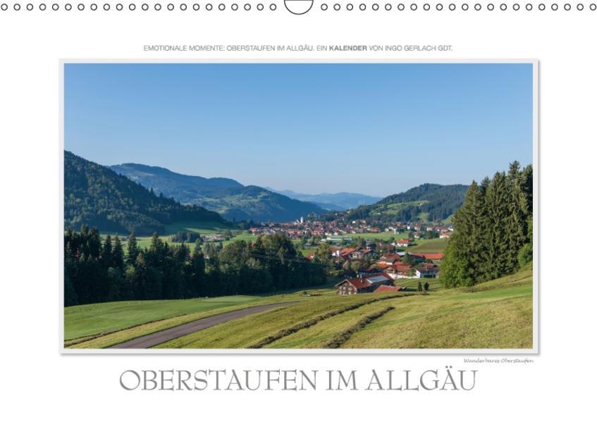 Emotionale Momente: Oberstaufen im Allgäu. / CH-Version (Wandkalender 2017 DIN A3 quer) - Coverbild