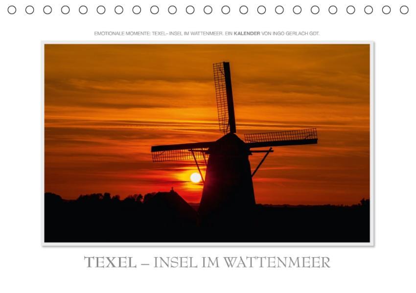 Emotionale Momente: Texel - Insel im Wattenmeer. / CH-Version (Tischkalender 2017 DIN A5 quer) - Coverbild