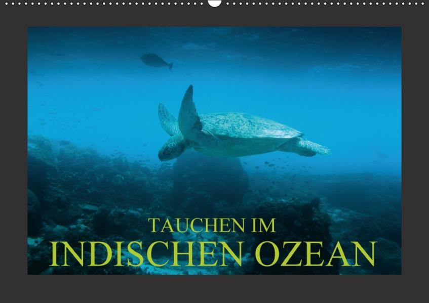 Tauchen im Indischen Ozean (Wandkalender 2017 DIN A2 quer) - Coverbild