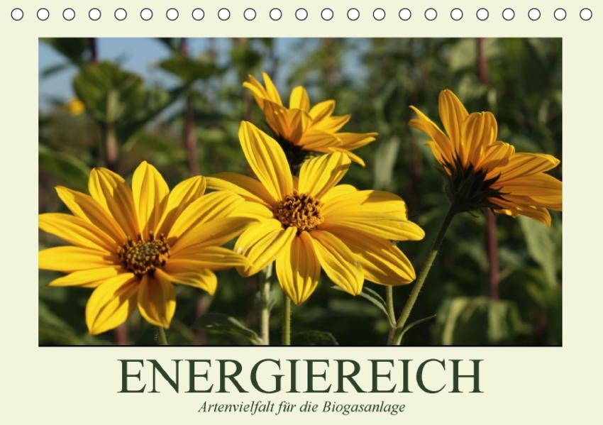 ENERGIEREICH - Artenvielfalt für die Biogasanlage / CH-Version (Tischkalender 2017 DIN A5 quer) - Coverbild