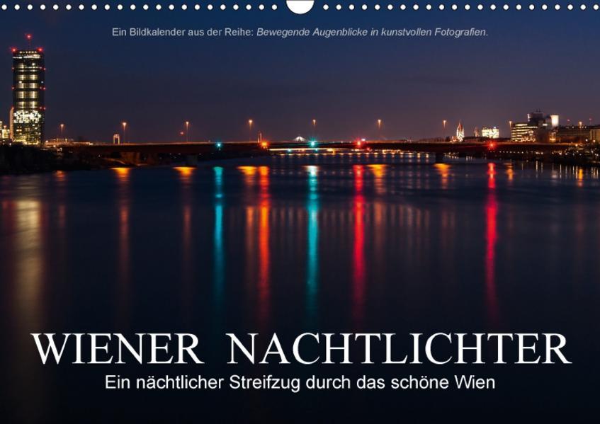 Wiener NachtlichterAT-Version  (Wandkalender 2017 DIN A3 quer) - Coverbild