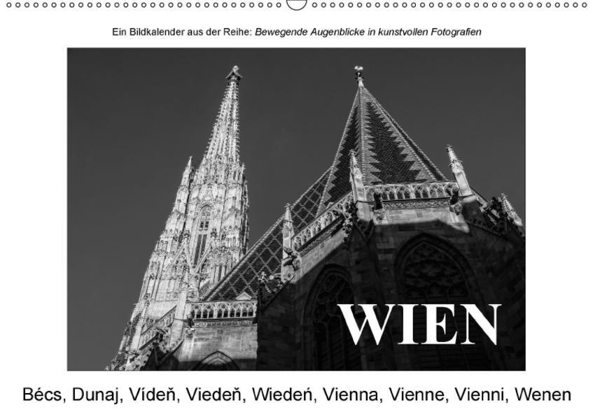 WienAT-Version  (Wandkalender 2017 DIN A2 quer) - Coverbild