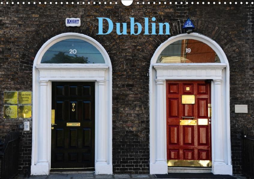 Dublin (Wandkalender 2017 DIN A3 quer) - Coverbild