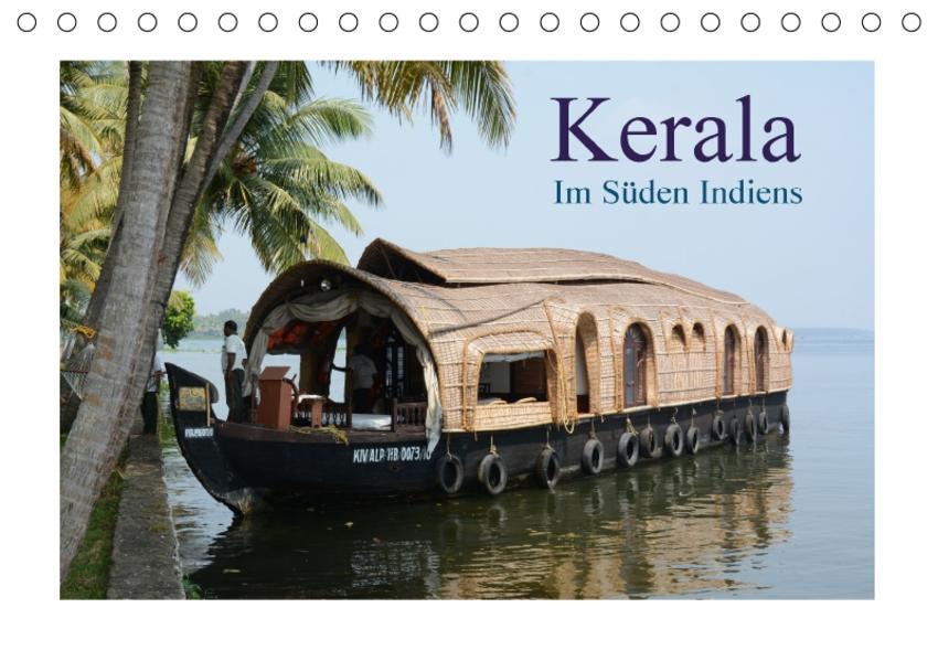 Kerala  Im Süden Indiens (Tischkalender 2017 DIN A5 quer) - Coverbild