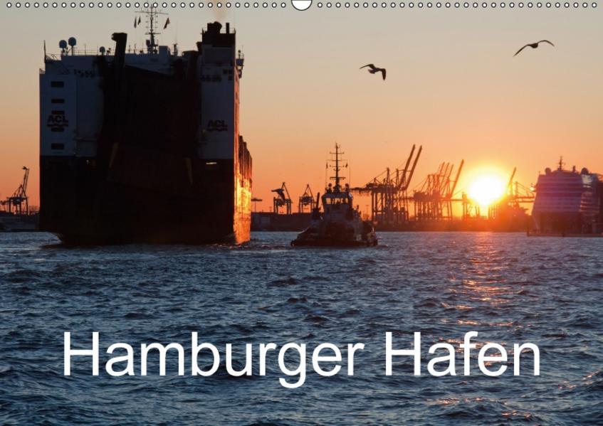 Hamburger Hafen (Wandkalender 2017 DIN A2 quer) - Coverbild