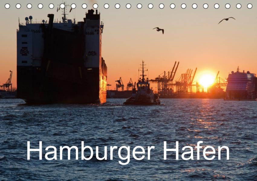 Hamburger Hafen (Tischkalender 2017 DIN A5 quer) - Coverbild