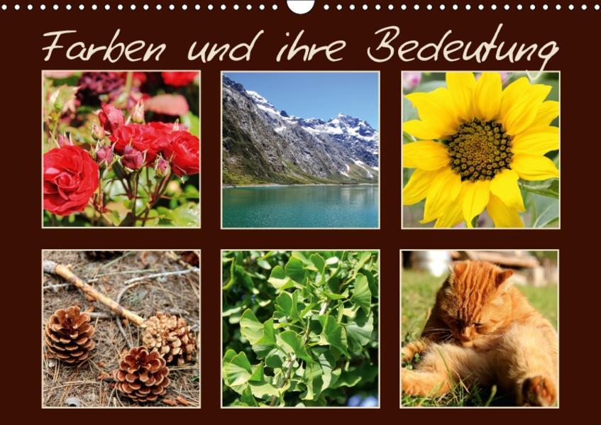 Farben und ihre Bedeutung (Wandkalender 2017 DIN A3 quer) - Coverbild