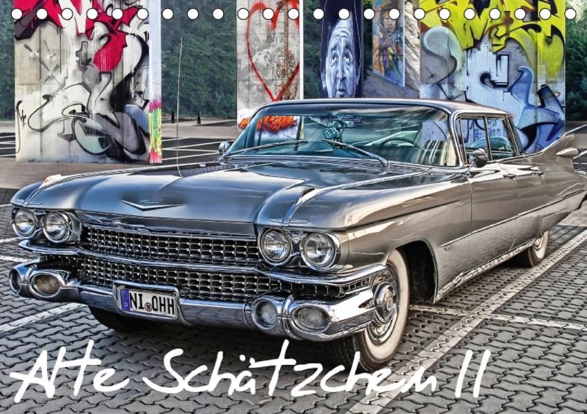 Alte Schätzchen II (Tischkalender 2017 DIN A5 quer) - Coverbild