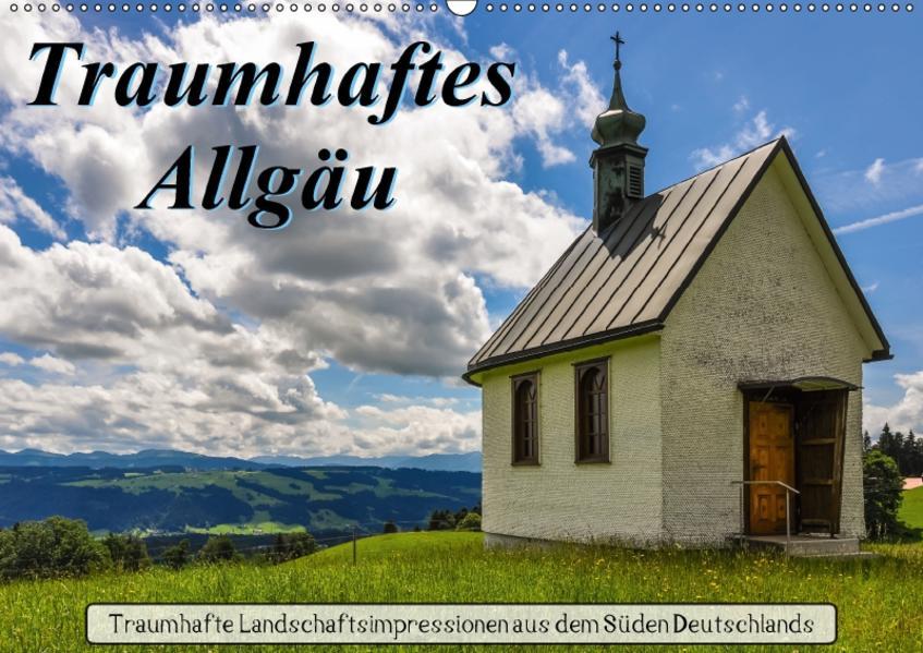 Traumhaftes Allgäu (Wandkalender 2017 DIN A2 quer) - Coverbild