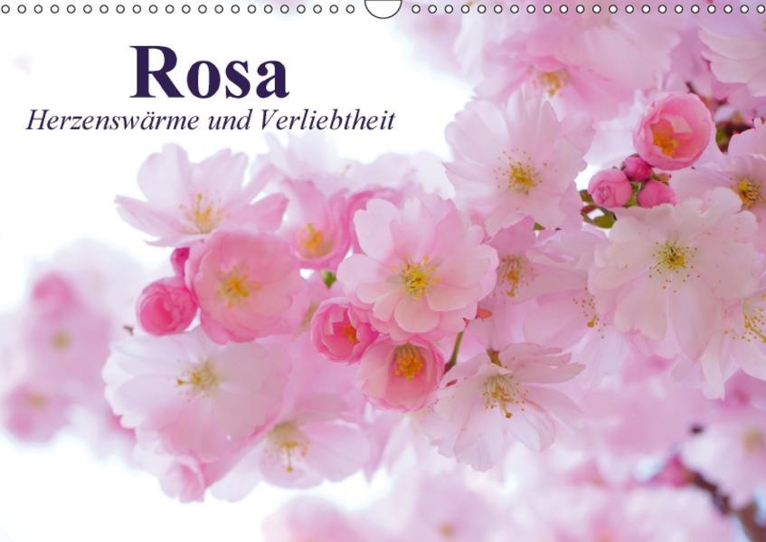 Rosa. Herzenswärme und Verliebtheit (Wandkalender 2017 DIN A3 quer) - Coverbild