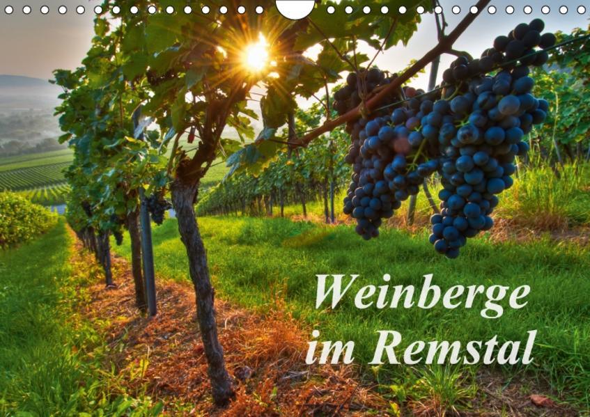 Weinberge im Remstal (Wandkalender 2017 DIN A4 quer) - Coverbild