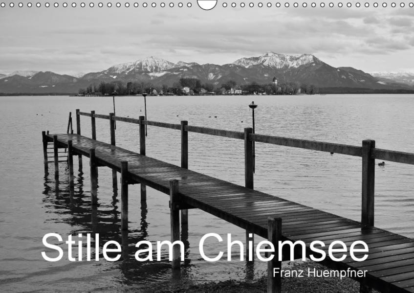 Stille am Chiemsee (Wandkalender 2017 DIN A3 quer) - Coverbild